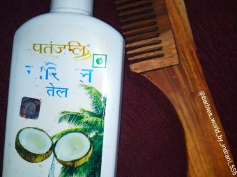 Patanjali Coconut Oil -Must Try Pure Coconut Oil-By indranireviews
