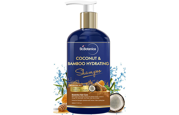 StBotanica Coconut Oil & Bamboo Hair Strengthening Shampoo