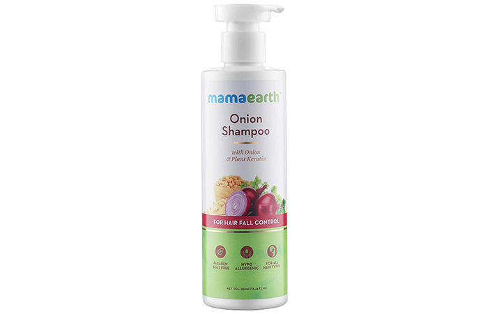 Mamaearth Onion Hair Fall Shampoo for Hair Growth & Hair Fall Control
