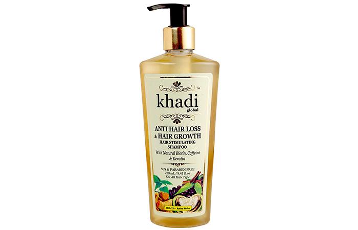 Khadi Global Anti Hair Loss and Hair Growth Stimulating Shampoo