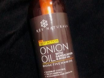 Rey Naturals Onion Hair Oil with 14 Essential Oils pic 5-Plethora of Hair Goodness-By tipsybylooks