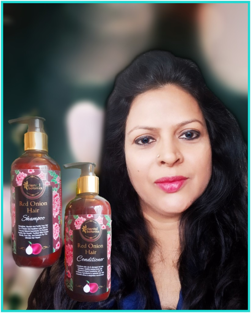Oriental Botanics Red Onion Hair Conditioner-Hair fall solution-By viv