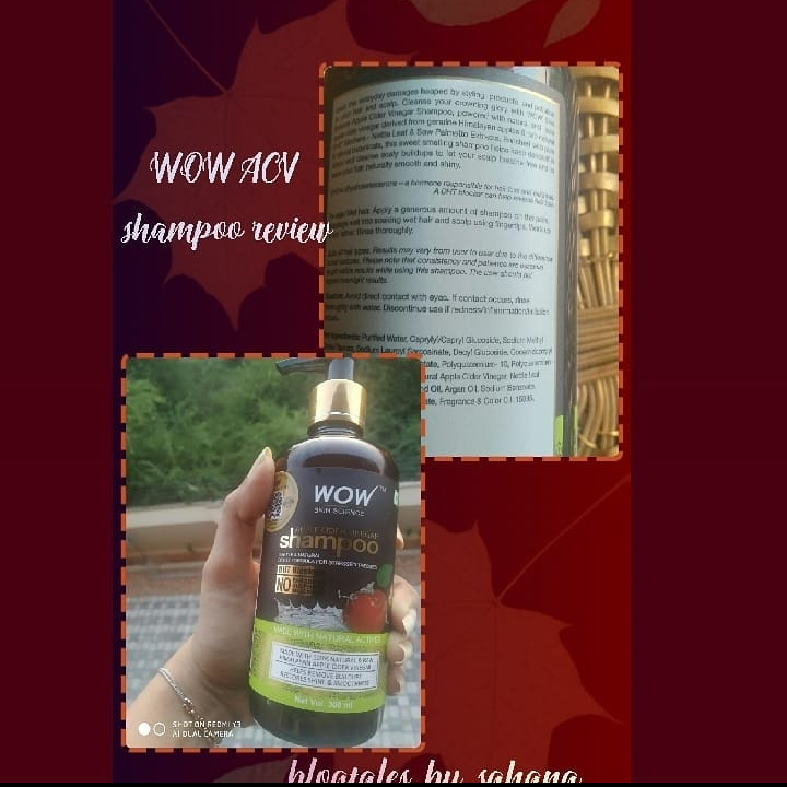 WOW Apple Cider Vinegar Shampoo-Worth a try-By blogtales_by_sahana-1
