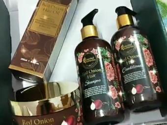 Oriental Botanics Red Onion Hair Shampoo Conditioner Oil Mask -Best Haircare Onion Range-By mecurlygirl