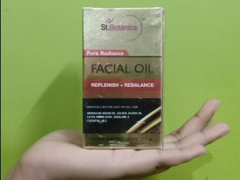 StBotanica Pure Radiance Facial Oil -Boon for oily skin beauties.-By miss_jellybean