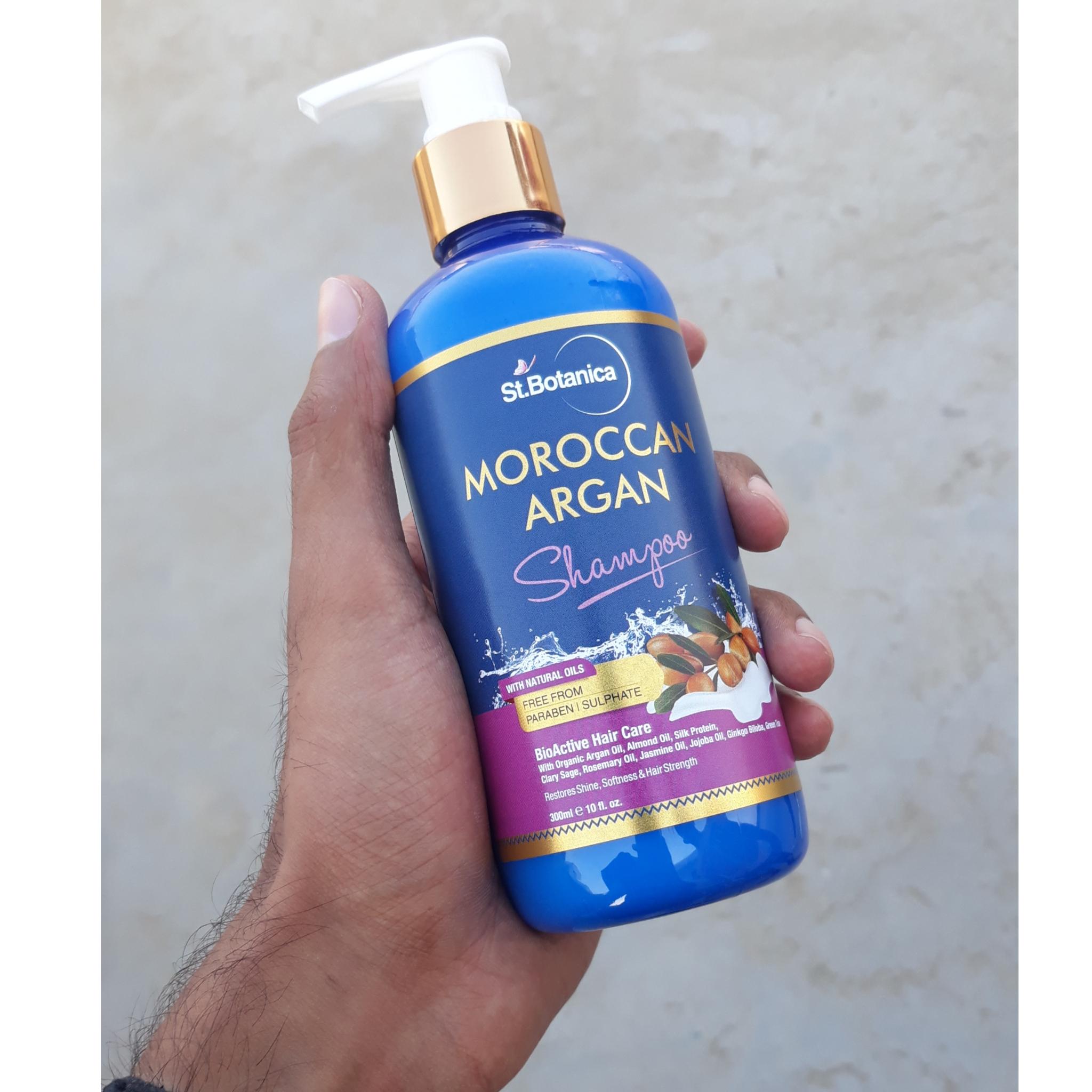 StBotanica Moroccan Argan Hair Shampoo-St.Botanica Moroccan argan hair shampoo-By bunny_khan-2