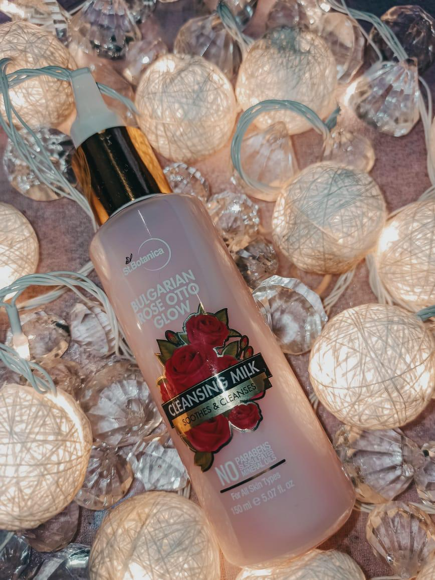 StBotanica Bulgarian Rose Otto Glow Cleansing Milk -St Botancia Cleansing Milk Review-By myfooodjourney