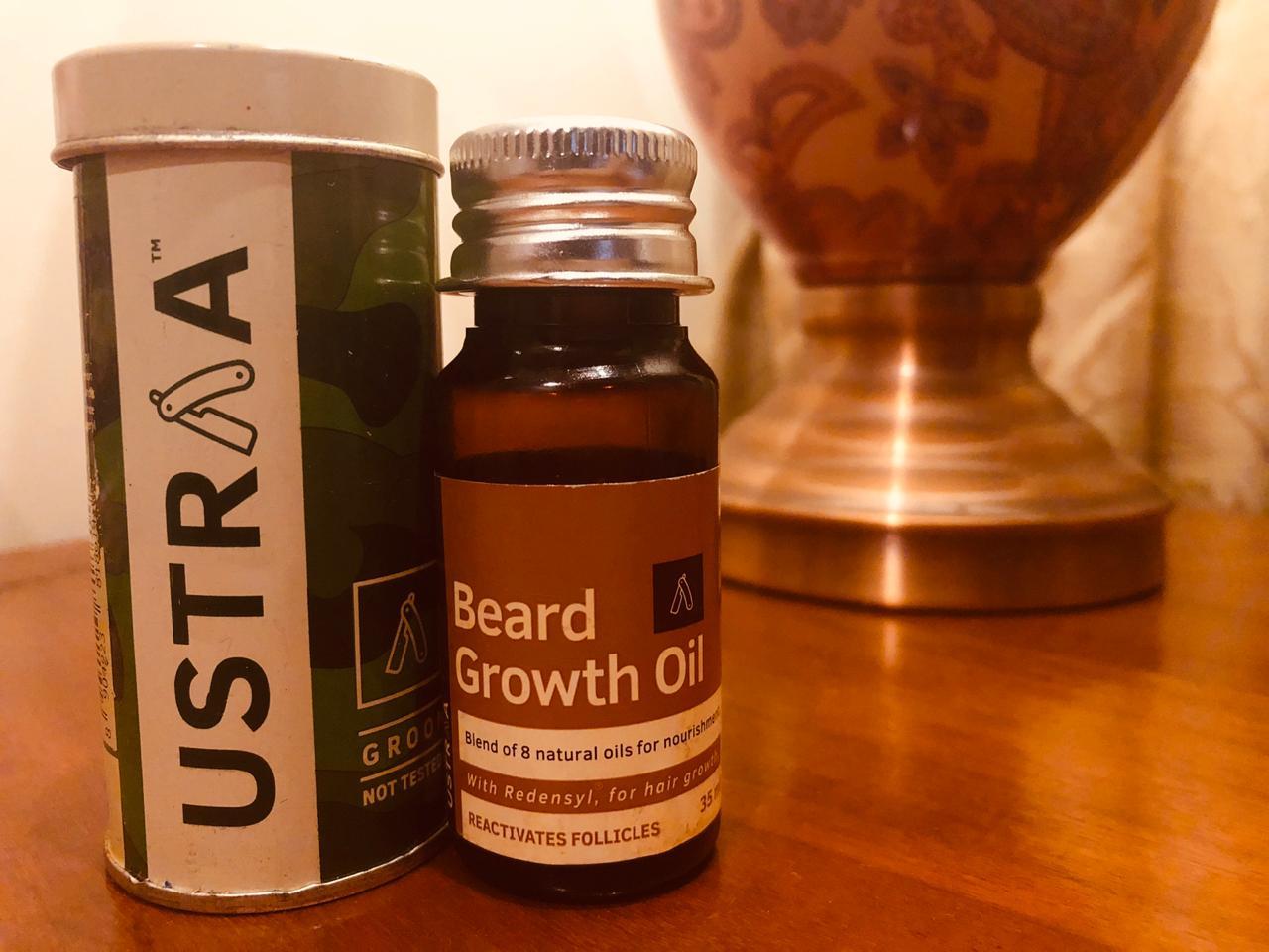 Ustraa Beard Growth Oil-Thick Beard Growth-By sheikhmishal