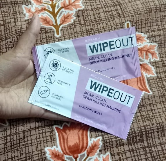 MyGlamm Wipeout Cleansing Towels-Ideal for sanitizing-By jyoti5352-2