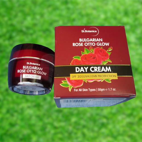 St.Botanica Bulgarian Rose Otto Glow Day Cream pic 1-Perfect Day Cream with SPF-By mrin