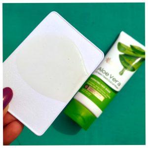 Oriental Botanics Aloe Vera, Green Tea & Cucumber Hydrating Face Wash pic 2-Best Face Wash-By mrin