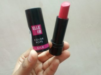 Elle 18 Color Pops Silk Lipstick pic 1-HIghly pigmented, yet affordable-By nidhi_gadkari