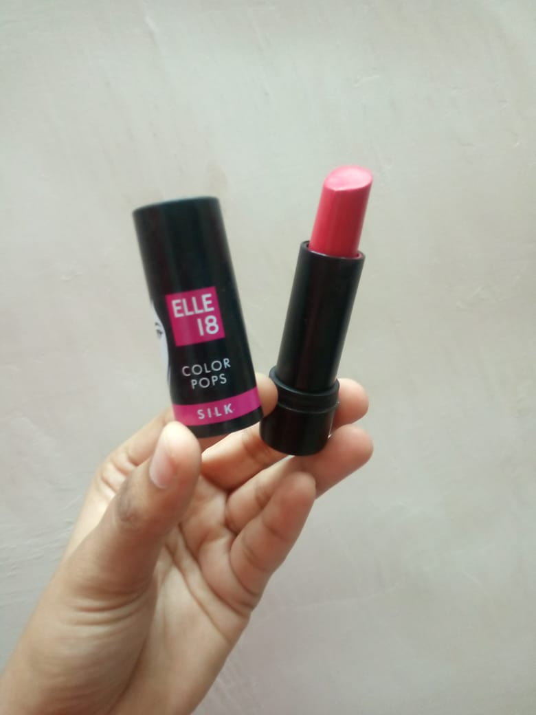 Elle 18 Color Pops Silk Lipstick-HIghly pigmented, yet affordable-By nidhi_gadkari-1