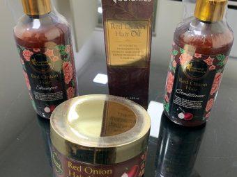 Oriental Botanics Red Onion Hair Shampoo Conditioner Oil Mask pic 3-A superb organic hair care regime-By maayankjaiin