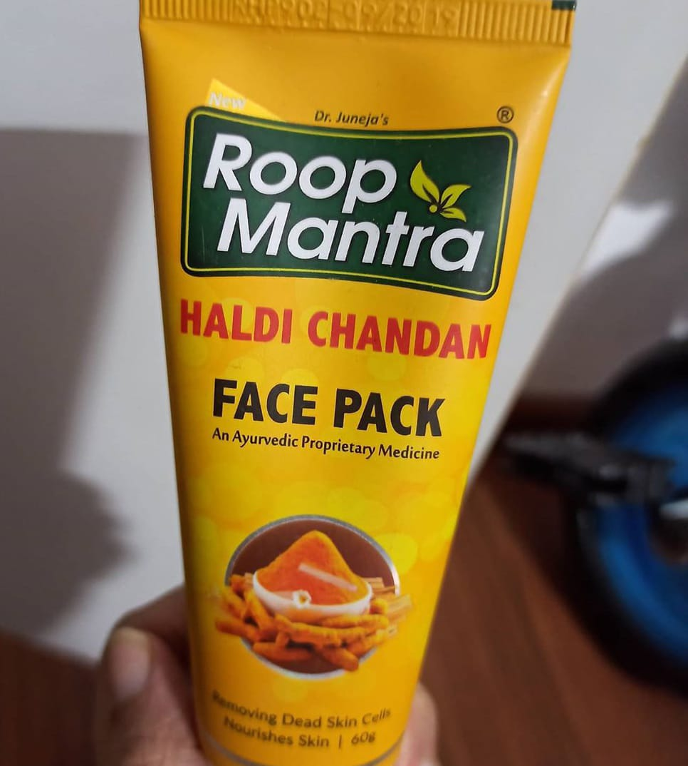 Roop Mantra Haldi Chandan Face Pack-Great face pack-By kashmi.shah