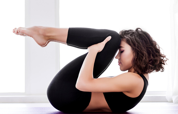 yogasana for flat belly