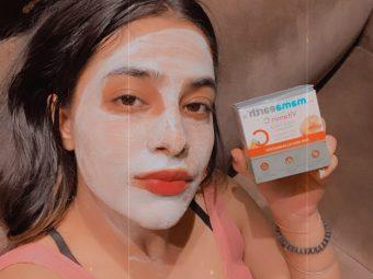 Mamaearth Vitamin C Face Mask -For bright supple GLOWY skin-By hamsterdam