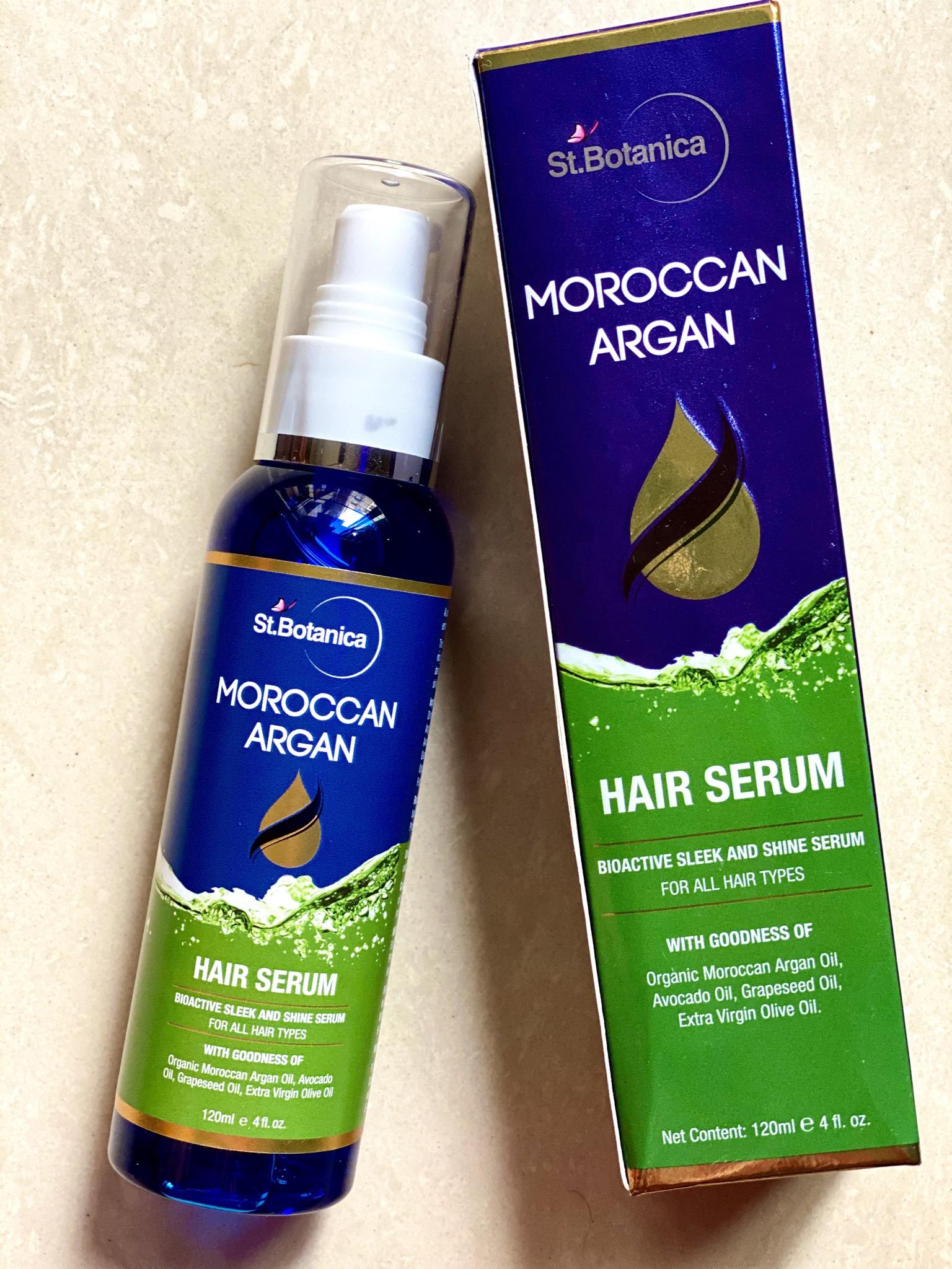 St.Botanica Moroccan Argan Hair Serum -Perfect serum for hair-By yogita_parmar