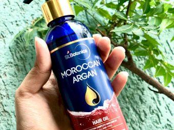 St.Botanica Moroccan Argan Hair Growth Oil pic 1-A product worth buying.-By azrashaiikh