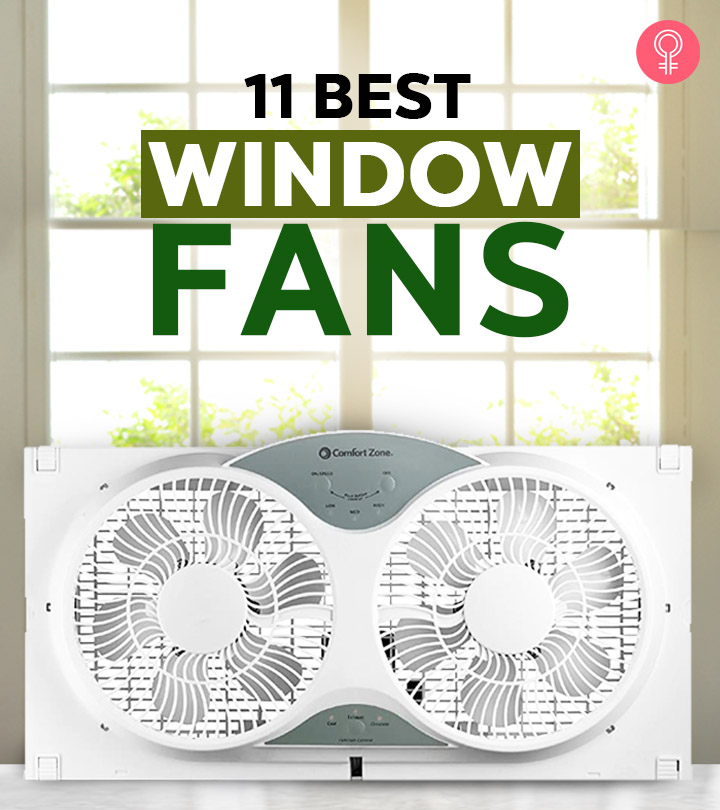11 Best Window Fans In 2020 And Buying Guide