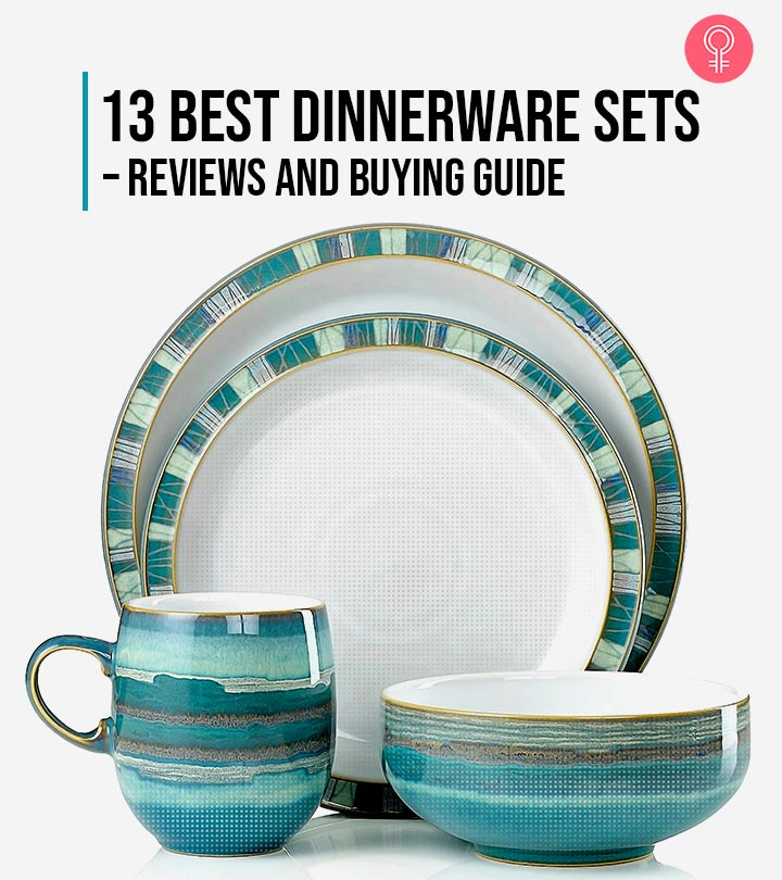 13 Best Dinnerware Sets – Reviews And Buying Guide