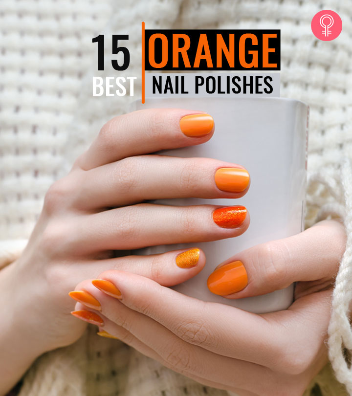 15 Best Orange Nail Polishes