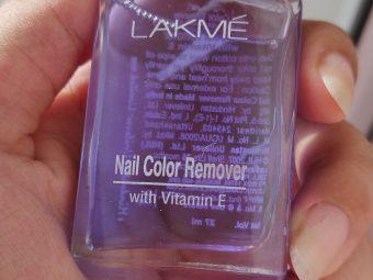 Lakme Nail Color Remover -Good nail polish remover-By shaon