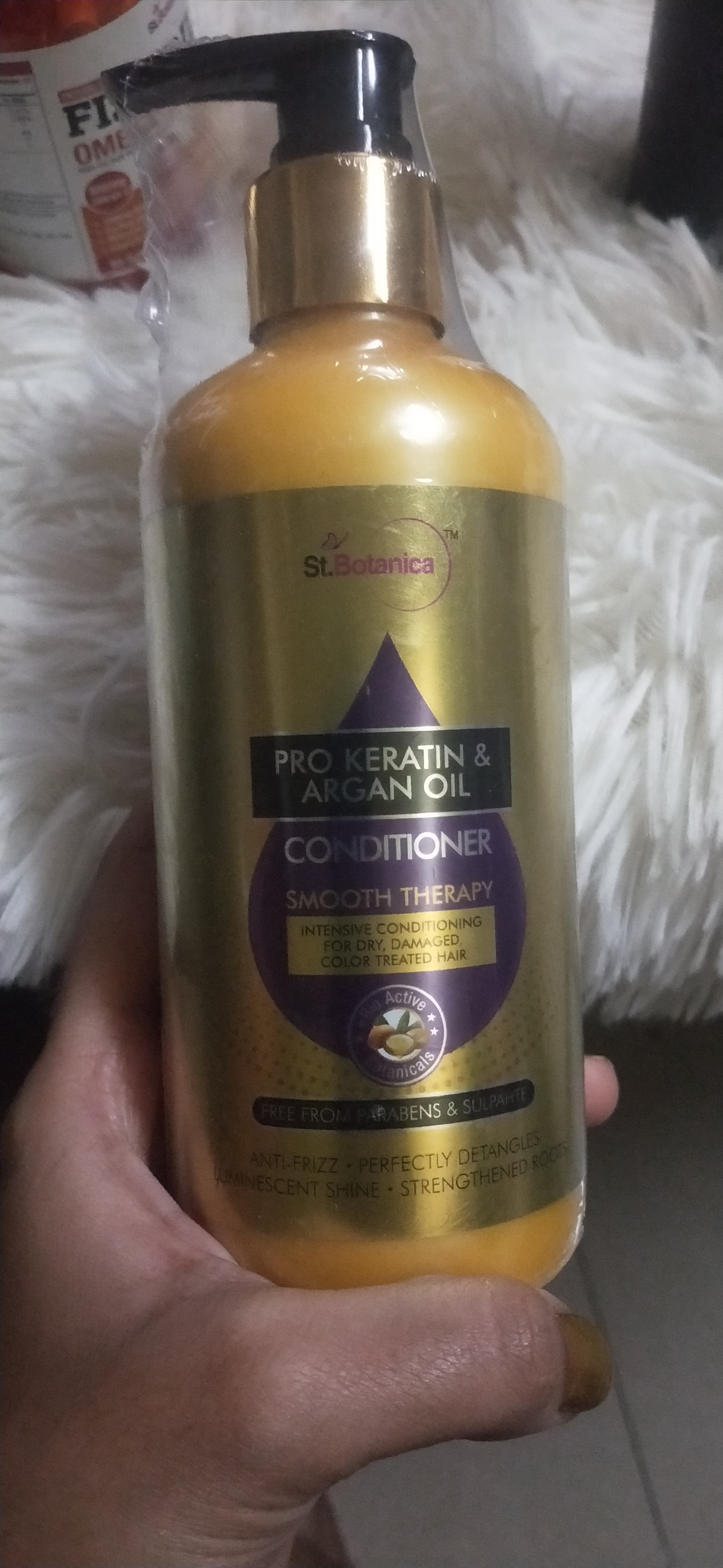 StBotanica Pro Keratin & Argan Oil Conditioner-Great product-By ishitas