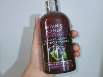 Bryan & Candy New York Black Currant and French Vanilla Shower Gel -Gives a great smell-By lilgirl27