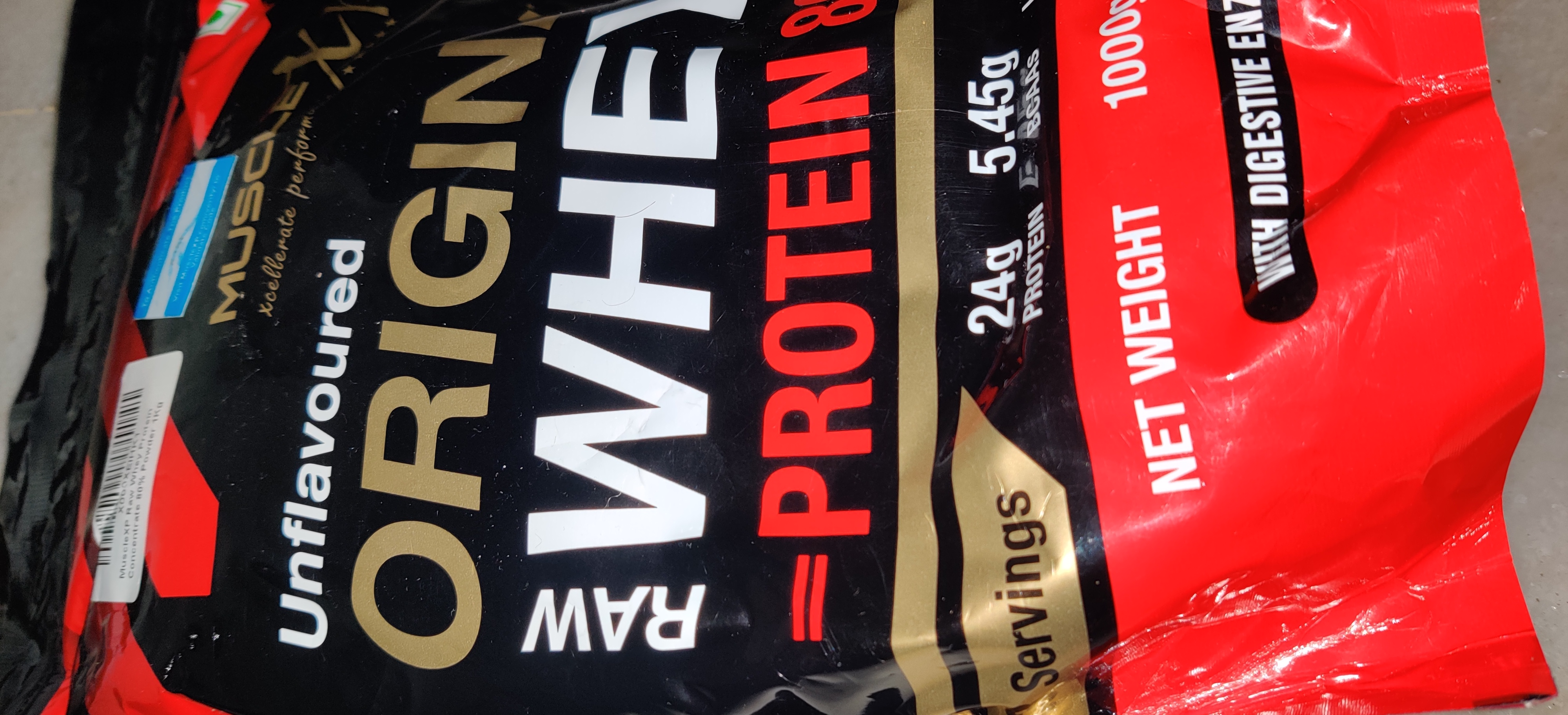 MuscleXP Raw Whey Protein 80% Powder Unflavoured -Good product-By radhima_puri