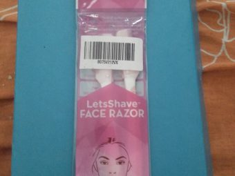 LetsShave Face Razor -Facial hairs bye bye-By amayra