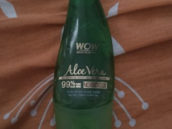 WOW Skin Science Aloe Vera Gel -WOW product-By amayra
