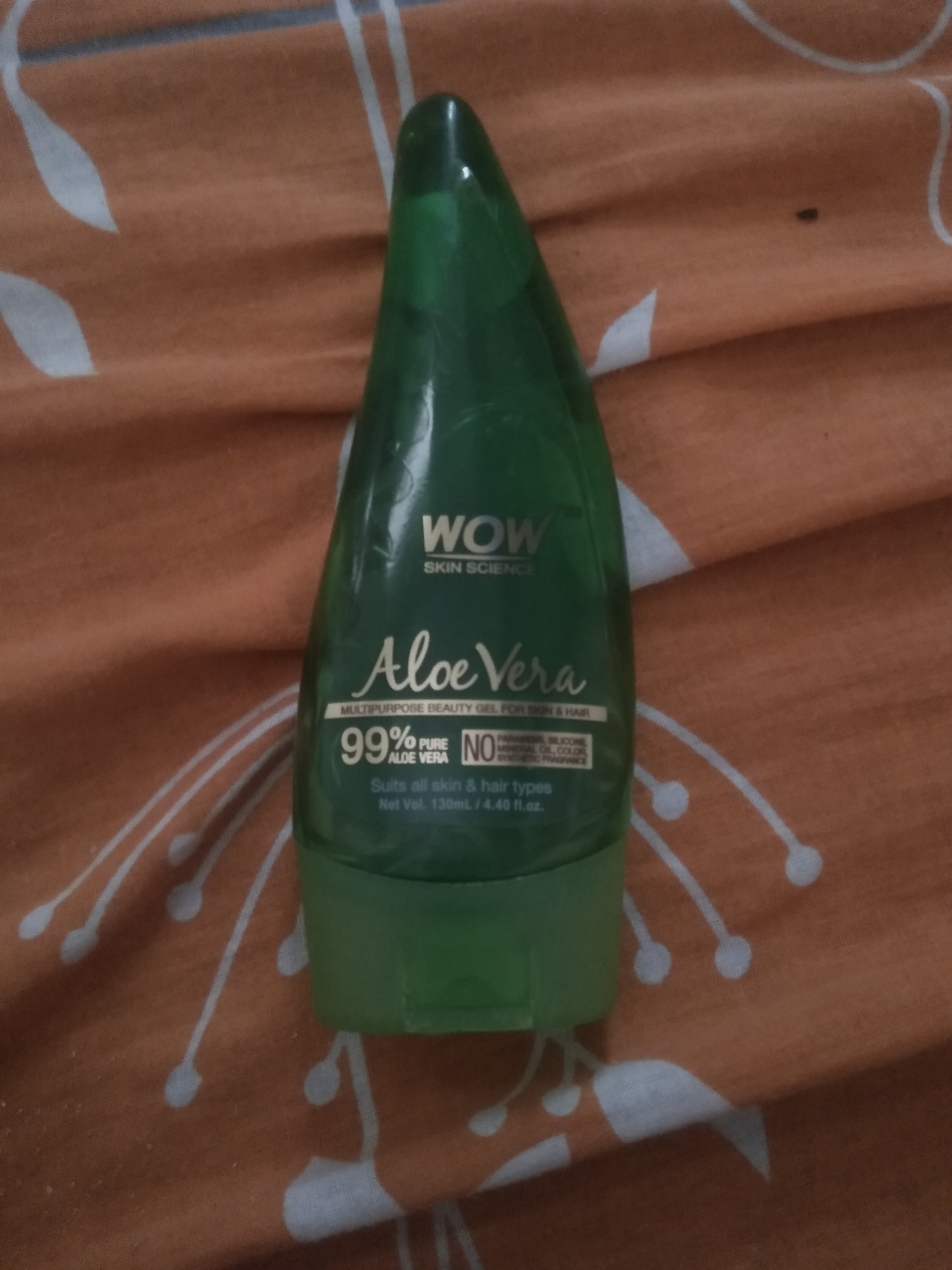 WOW Skin Science Aloe Vera Gel-WOW product-By amayra