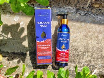 St.Botanica Moroccan Argan Hair Growth Oil pic 2-Best for hairs-By riya_agrahari