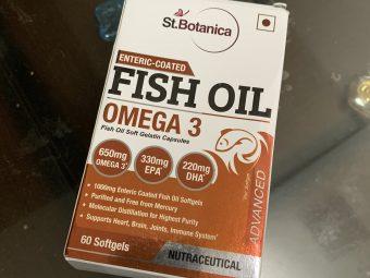 St.Botanica Salmon Fish Oil 1000mg; 300mg Omega-3 with 180mg EPA, 120mg DHA – 60 Enteric Coated Softgels pic 3-Good omega-3 supplement-By tanvijalan