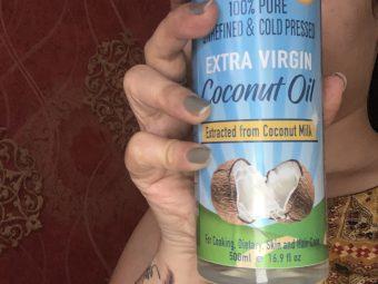 WishCare Cold Pressed Extra Virgin Coconut Oil -Pure 100 percent-By guptamridu