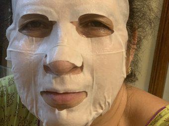 MyGlamm Glow Iridescent Brightening Sheet Mask Rosehip Extract Vitamin Elixir pic 1-Salon service at home-By swati_kapoor_