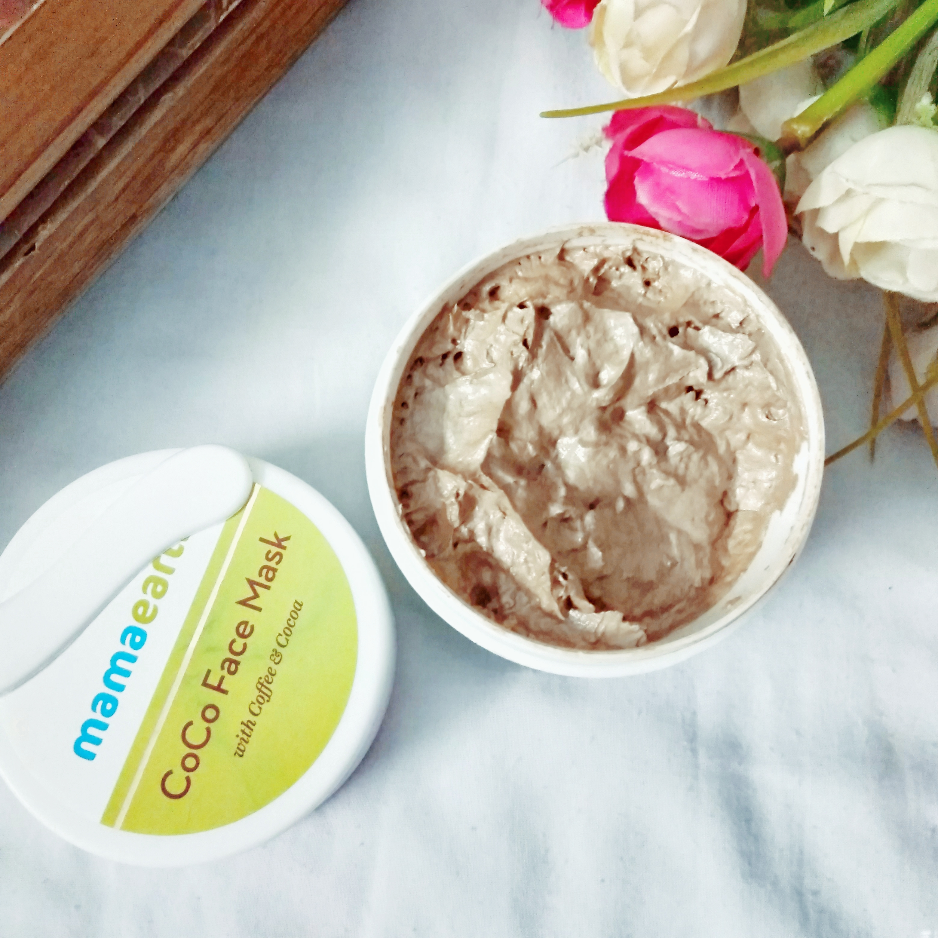 Mamaearth Coco Face Mask With Coffee & Cocoa-The face mask.-By in_voguewonderzz