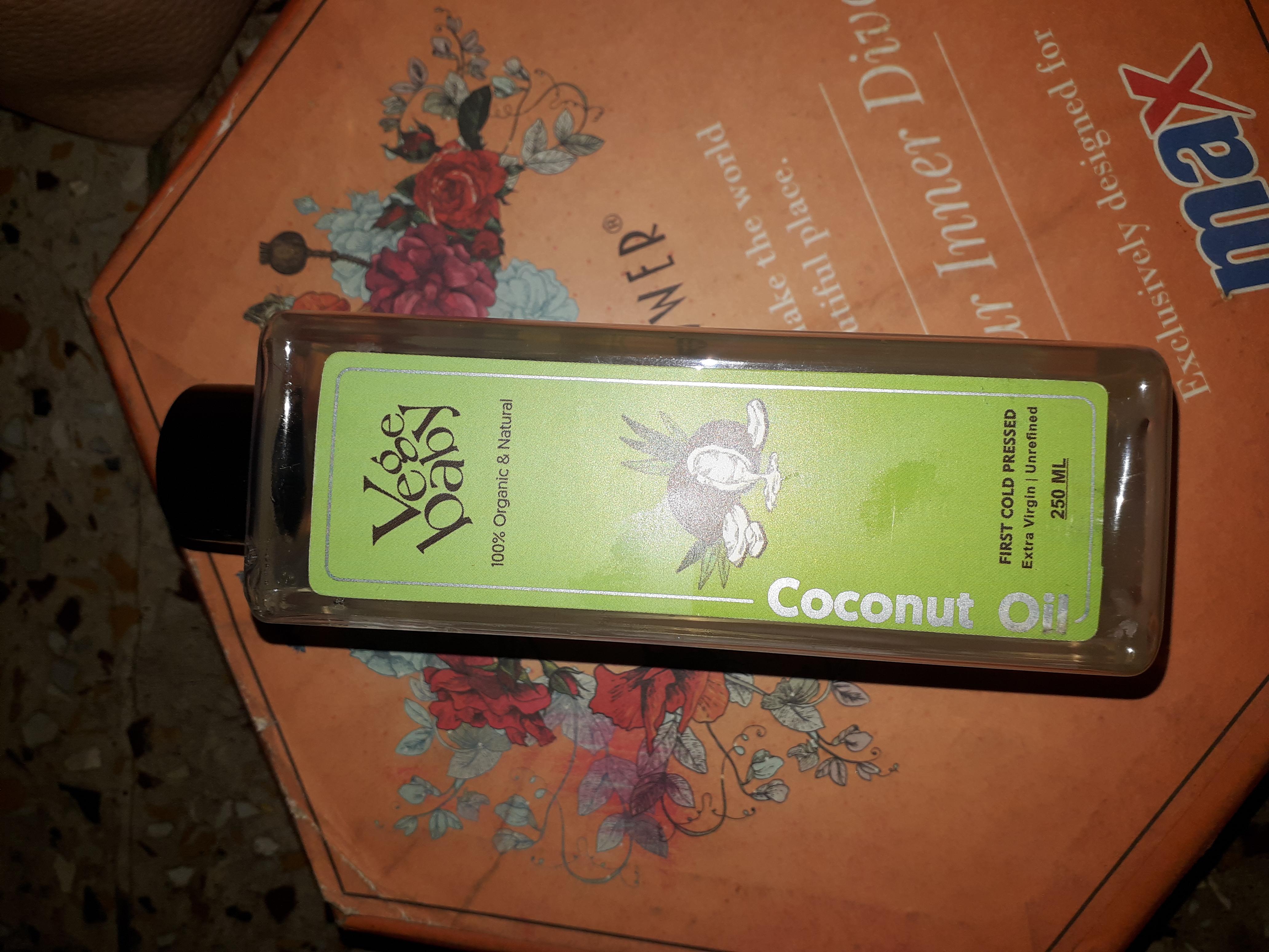 Vegebaby Natural Cold Pressed Extra Virgin Coconut Oil-Best oil ever.-By arapna_singh_