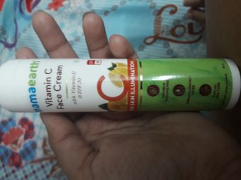 Mamaearth Vitamin C Face Cream -Nice for daily use-By tejaswi_baronia