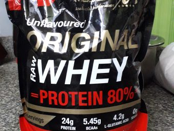 MuscleXP Raw Whey Protein 80% Powder Unflavoured pic 2-Fulfilling and authentic with new packaging!-By ritikaa_jain