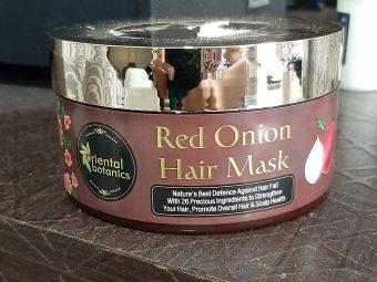 Oriental Botanics Red Onion Hair Mask -Best Mask for Hair Problems-By simransurhetia