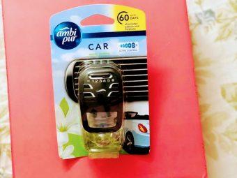 Ambi Pur Car Air Freshener – Exotic Jasmine -Lovely fragrance-By vinita_kucheria