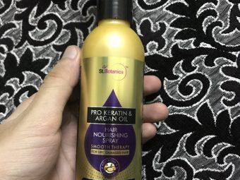 St.Botanica Pro Keratin & Argan Oil Hair Nourishing Spray -Substitute for sticky Hairoil-By sahil_