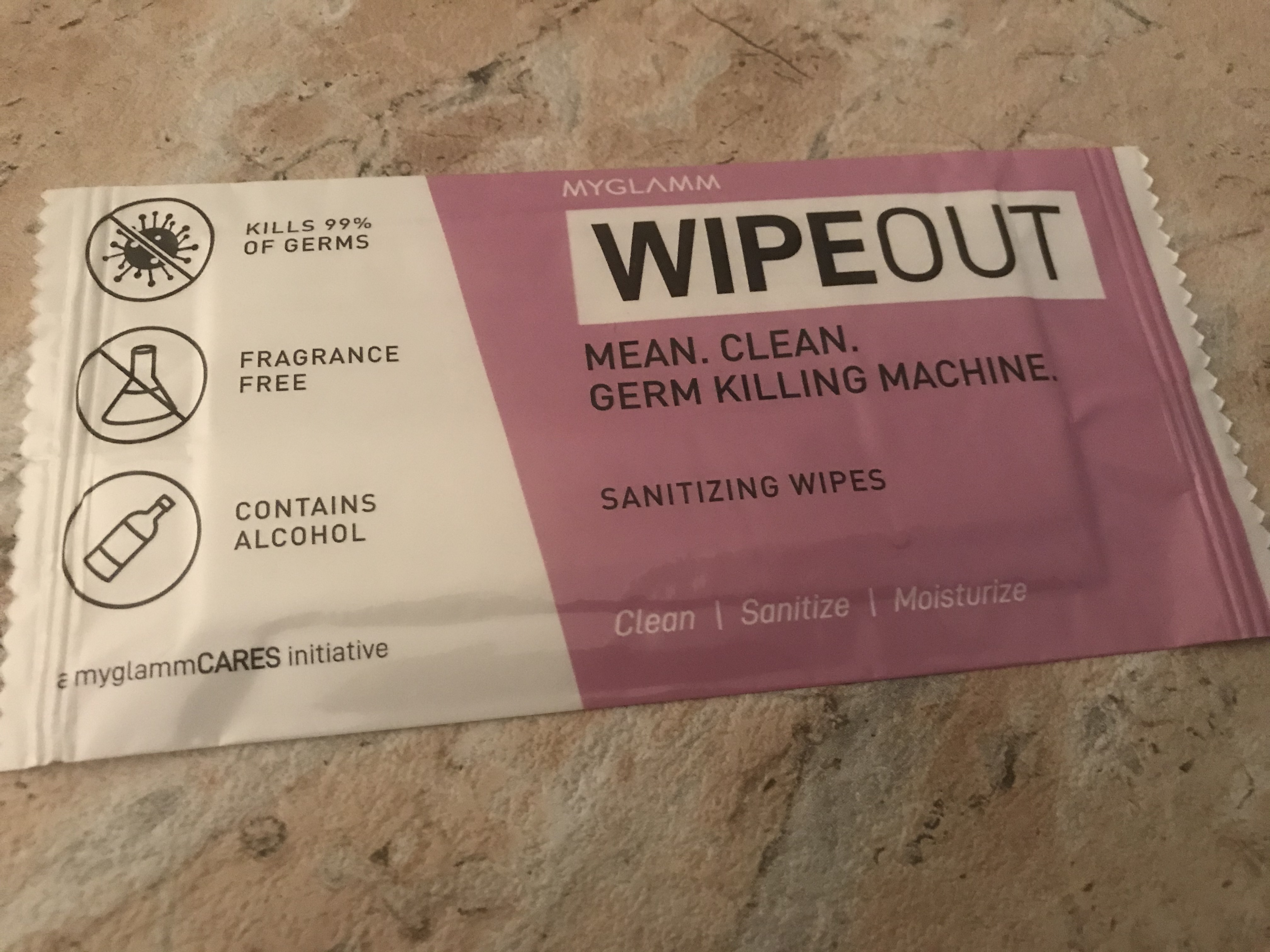 MyGlamm Wipeout Sanitizing Wipes-Kill the Germs-By womanofbeauty-2