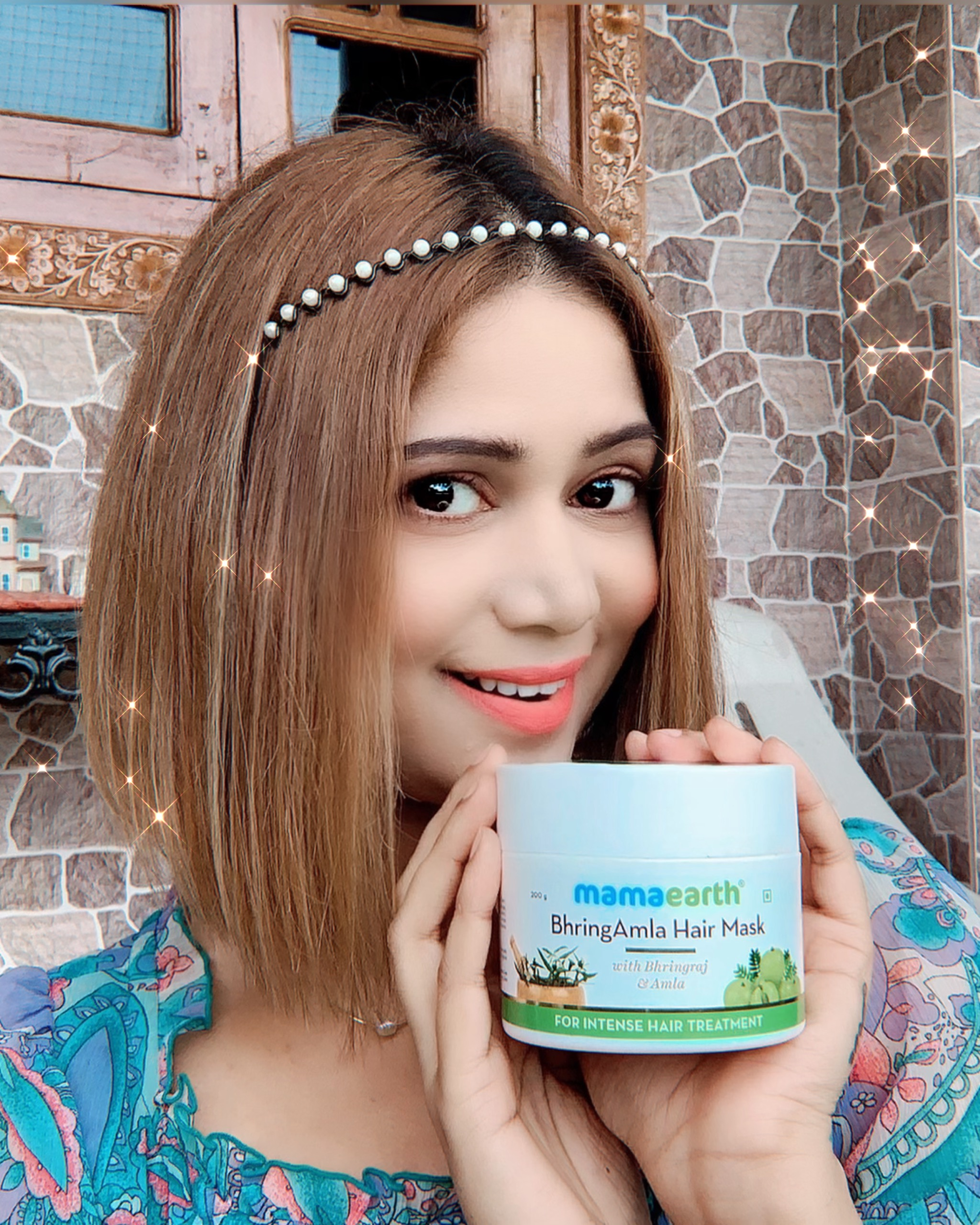 Mamaearth BhringAmla Hair Mask-BEST HAIR MASK WITH AMAZING RESULTS-By mahekhanitha-2