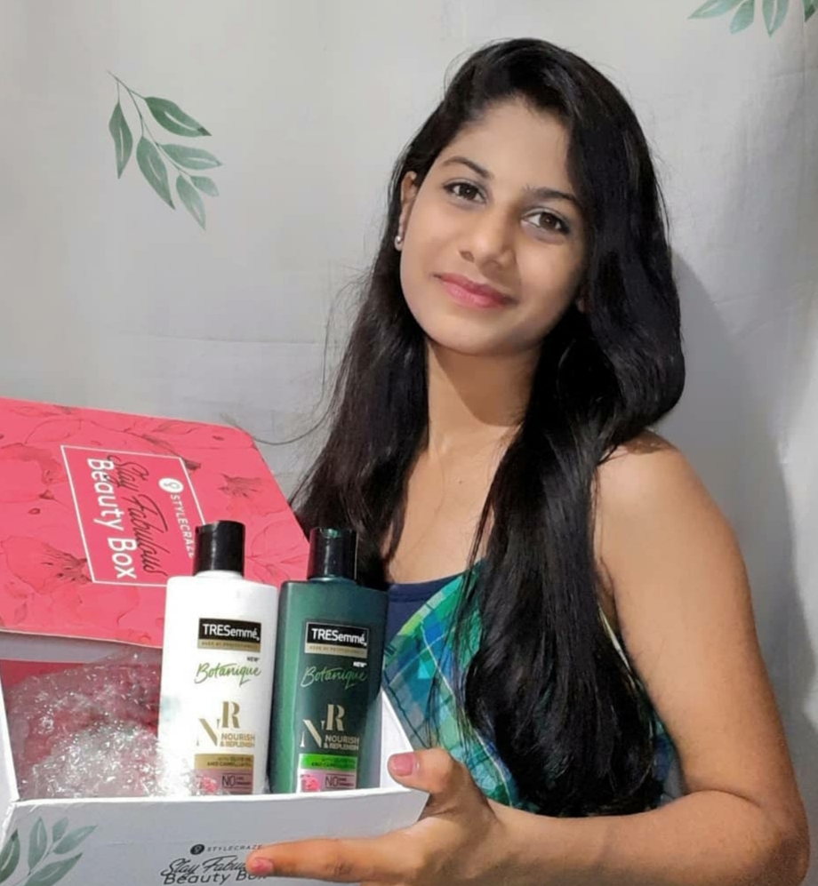 Tresemme Botanique Nourish And Replenish Conditioner -Works well for dry hair-By tejashreebarkal