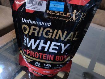 MuscleXP Raw Whey Protein 80% Powder Unflavoured pic 3-Wonderful protein powder-By glowbabies_25