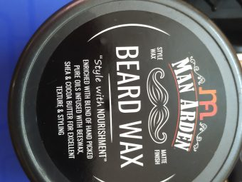 Man Arden Beard Wax – Strong Hold with Matte Finish -Amazing beard wax for shining-By bikaner_food_police