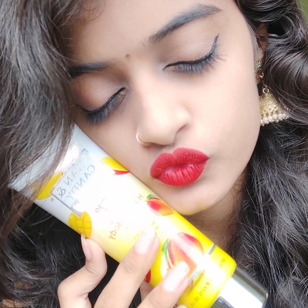 Bryan & Candy New York Mango Frutti Hand and Body Lotion pic 2-Makes skin smooth and gives frutti fragrance-By nirali_hapani